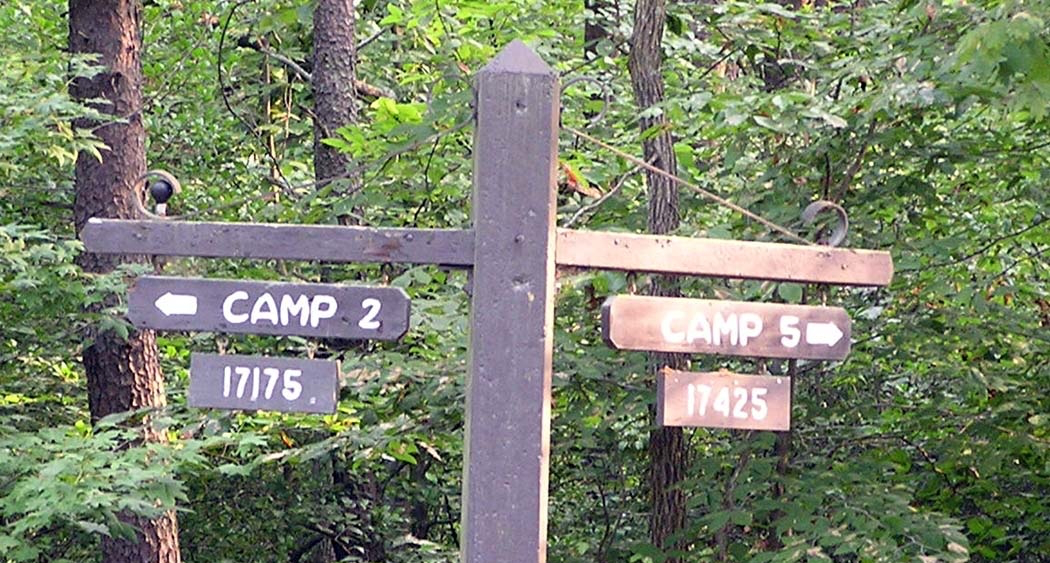Fork to Camp 2