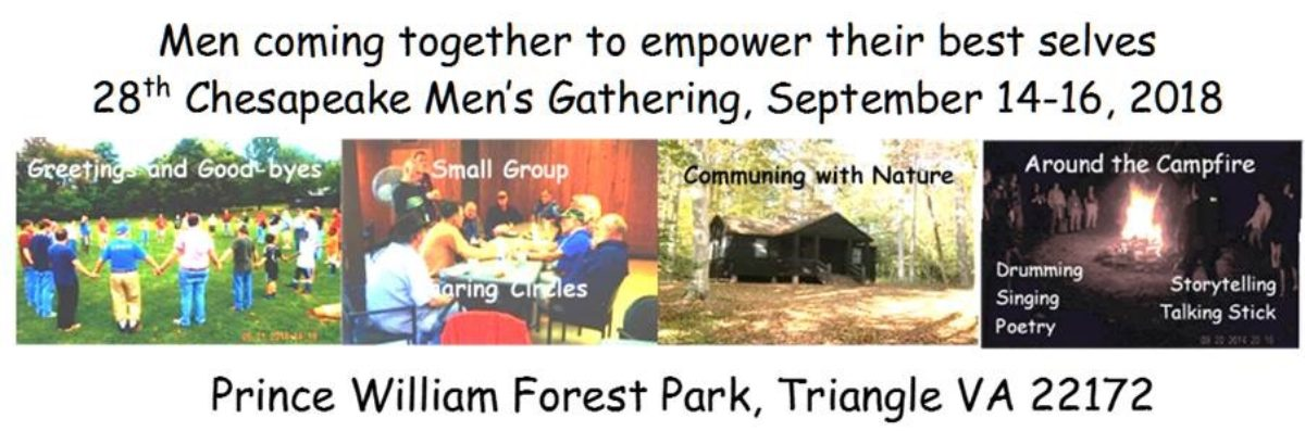 The Chesapeake Men's Gathering 2018